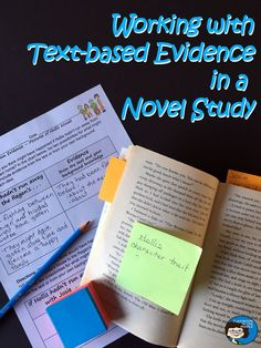 Students can work on using text-based evidence to support correct answers and to support their own conclusions with novel studies. Guest post at Minds in Bloom.