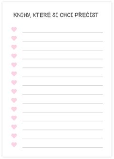 Organization Lists, Book Markers, Filofax, Notebook, Bullet Journal, Printables, Templates, Writing, How To Plan