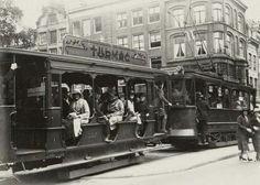 Utrechtsestraat Amsterdam 1931, foto eigendom Stadsarchief Amsterdam
