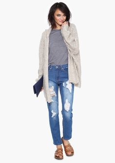 Dawn Mid Rise Jeans in Blue | Necessary Clothing