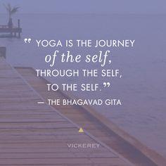 Yoga is the Journey #yoga #quote  Vickerey blog #hiphappysoulful