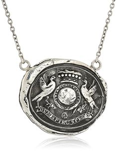 Pyrrha 'talisman' Sterling Silver While I Breathe I Hope Necklace, 18' * Check this awesome product by going to the link at the image. (This is an affiliate link) #JewelryForSale