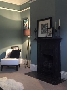 un avant apr s en farrow ball little clary wohnzimmer kinderzimmer und farben. Black Bedroom Furniture Sets. Home Design Ideas