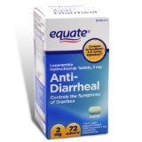 Equate – Anti-Diarrheal, 72 Caplets (Compare to Imodium A-D)