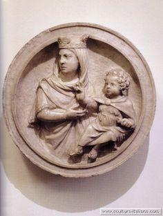 Giovanni Pisano (Pisa,Italy 1250-1315) ~  Empoli madonna col bambino ~ ca.1270 ~ Museo della Collegiata