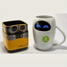 mugs eve wall-e ou comment mettre de la joie dans son petit-déjeuner
