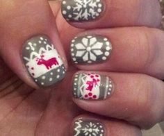 Christmas #Nails #Festive