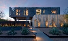 tresARCA Desert House by assemblageSTUDIO