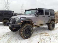 "jeep wrangler unlimited with 35 inch tires 2.5"" lift - Google Search"