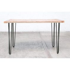 11 best metal desk legs images in 2019 dinning table industrial rh pinterest com