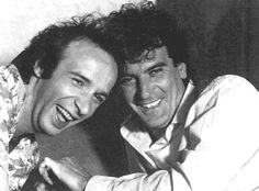 Roberto Benigni e Massimo Troisi