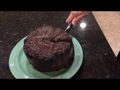 Pampered Chef : Rice Cooker Plus - 9 Minute Chocolate Lava Cake - YouTube