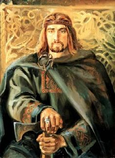 Oleg of Novgorod, brother of Rurik's wife. He ruled during 882 to 912, after the death of Rurik as guardian of Rurik's son, Prince Igor. Oleg united Northern and Southern parts of Rus territories ;he, not Rurik, is recognized as the first Prince and ruler of Kievan Rus. He moved the capital of Rus from Novgorod the Great to Kiev and laid the foundation of the powerful state of Kievan Rus. He launched at least one attack on Constantinople, Byzantine. Oleg was buried near Lake Ladoga, Volkhov…