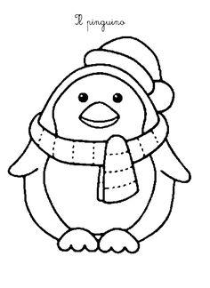 La maestra Linda: Inverno da colorare