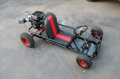 Vintage Go Kart... those were the days!