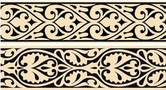 Арабские орнаменты в векторном формате