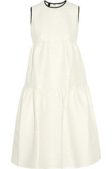 Mother of Pearl Gudwin tiered cloqué dress | NET-A-PORTER