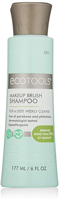 how to clean ecotools brushes