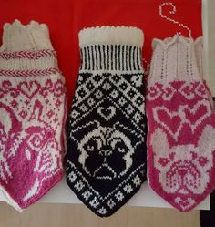 Knit Mittens, Socks, Fantasy, Knitting, Fashion, Moda, Tricot, Fashion Styles, Breien