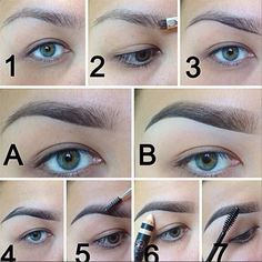 how to do the faded eyebrow - Google Search