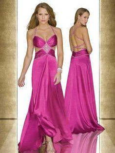 Spaghetti Straps Sashes Ribbons Sleeveless Floor-length Elastic Woven Satin Prom Dresses