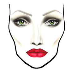 Angelina Jolie's makeup artist on creating your own sculpted cheekbones (and the MAC face chart so you can recreate your Maleficent face for your next costume party)_www.imabeautygeek.com