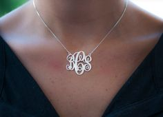Monogrammed Classic Split Chain Necklace