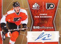 2009-10 SP Game Used SIGnificance #SIGVR  James van Riemsdyk