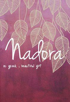 Baby name Nadora