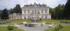 Die Villa Raczynski des ehemaligen polnischen Grafens Raczynski und seiner Gattin Caroline ist eine zauberhafte Schlossvilla im neubarocken Stil. Die Villa eignet sich für exklusive Events, Hochze…