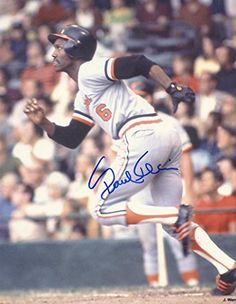 Paul Blair Baltimore Orioles Memorabilia