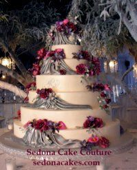 Wedding Cake by Sedona Cake Couture