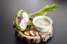 Recette de velouté d'artichaut poireau et pomme de terre pour bébé (Dès 6 mois)