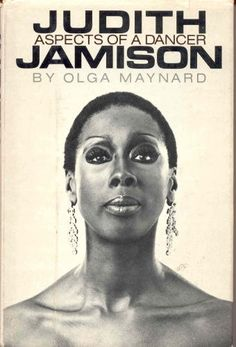 Judith Jamison's book - Aspects of a Dancer