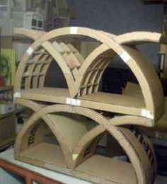 cardboard furniture making Great idea ~ msut try! #ecrafty