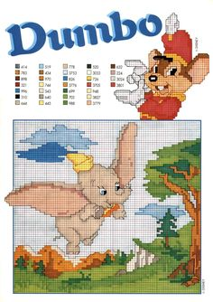 Disney - free cross stitch patterns crochet knitting amigurumi