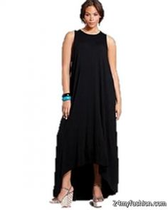 Nice Black maxi dresses plus size 2018-2019 Check more at http://myclothestrend.com/dresses-review/black-maxi-dresses-plus-size-2018-2019/