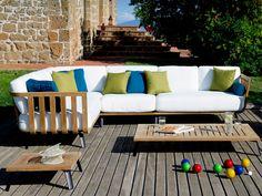 Welcome Collection - Unopiù Outdoor Sofa, Outdoor Furniture, Outdoor Decor, Garden Sofa, Terrace Garden, Armchair, Cushions, Colours, Furnitures