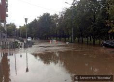 Москву вновь подтопило – Варламов.ру
