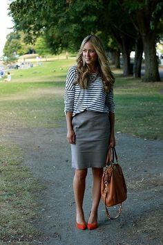 Classic Stripe (by Cara M) http://lookbook.nu/look/3993394-Classic-Stripe