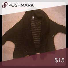 💕SALE💕Knitted black sequin cardigan EUC.. Feel free to ask any questions like more pics or measurements!  ✅Make an offer through OFFER button ONLY! ✅Negotiations welcomed ❌No trades ❌No Paypal Pearl Studio Sweaters Cardigans