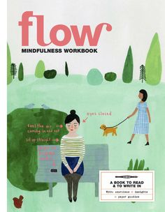 Our second mindfulness special – the Flow Mindfulness Workbook is available! A book to read and write in, with exercises, insights and paper goodies (like stickers, precious moments cards and a notebook).