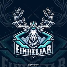 Esports logo design Top detailed logo, Badge cartoon illustration, best trending design inspiration, digital art by hanographic Top Graphic Designers, Mobile Logo, Youtube Logo, Game Logo Design, Esports Logo, Mascot Design, Logo Maker, Animal Logo, Letter Logo