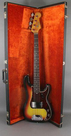 1966 Vintage Fender Precision bass