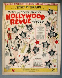 The Hollywood Revue of 1929 - The Bill Douglas Cinema Museum