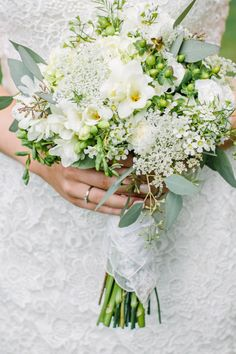 Wildflower bouquet: http://www.stylemepretty.com/connecticut-weddings/2014/12/10/whimsical-connecticut-country-club-wedding/ | Photography: Love & Light - http://loveandlightphotographs.com/
