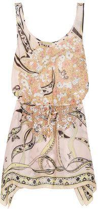 Emilio Pucci Printed silk beach dress.