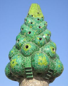 Gaudi - check out all of his architecture!