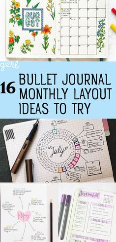 If you have not already jumped on the bullet journal train… uh, what are you waiting for? These extremely detailed planners/journals are the single best way to stay super organized, track your habits, and keep up with your busy schedule. Bullet Journal Décoration, Bullet Journal Spread, Bullet Journal Layout, My Journal, Bullet Journal Inspiration, Journal Pages, Journal Ideas, Diy Planner, Planner Organization