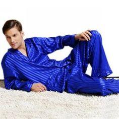 eb3bf931c2 Sonjer Mens Silk Satin Pajamas Set Pajama Pyjamas Set Pjs Sleepwear Set  Loungewear Seide Nachtwäsche,